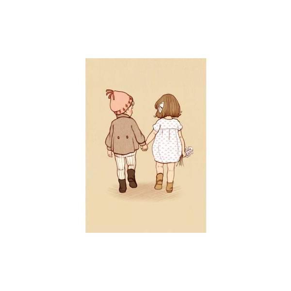 Bilde av KORT - Together - Belle & Bo