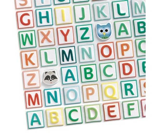 Bilde av KLISTREMERKEBOK - Alfabet - Djeco