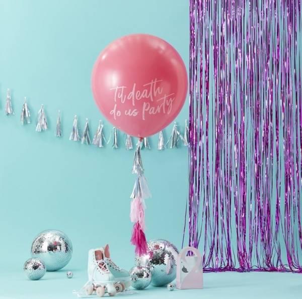 Bilde av STOR BALLONG - Til Death Do Us Party Kit - Good Vibes