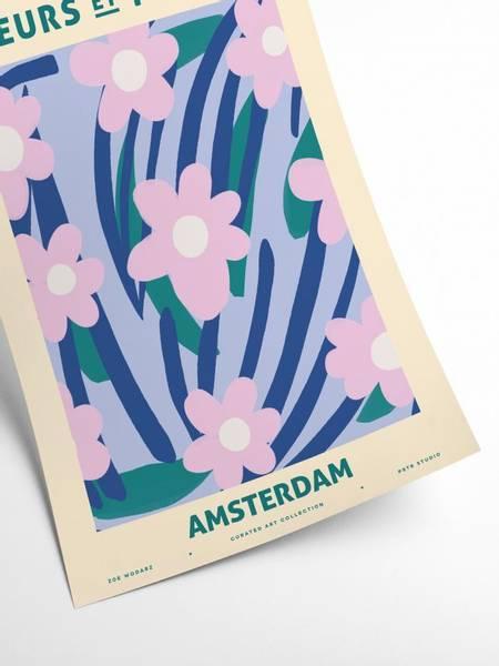 Bilde av PLAKAT - Zoe - Fleurs et Plantes - Amsterdam - 50x70