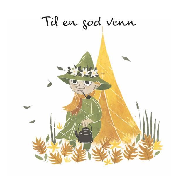 Bilde av MUMMIKORT - Snusmumrikken - Til En God Venn