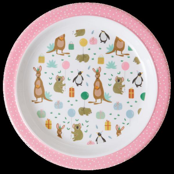 Bilde av ASJETT - Pink - Party Animal Print - Rice